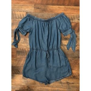 Other - Blue jeans romper